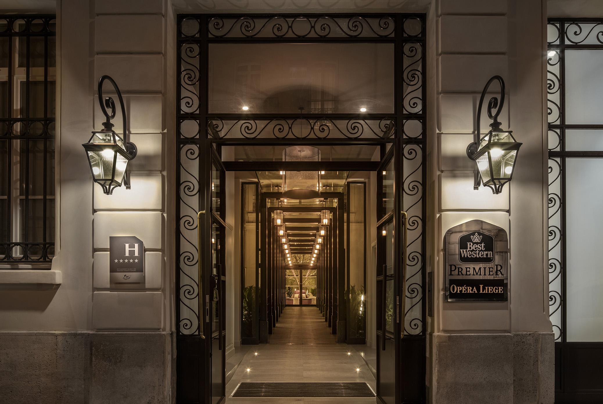 H tel opera liege 75 paris cim for Hotel paris 75